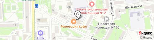 АЛЬПАРИ СЕРВИС на карте Железнодорожного