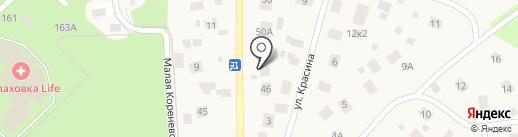 Точка отсчета на карте Малаховки