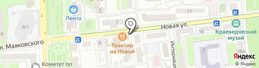 Магазин фастфудной продукции на карте Балашихи