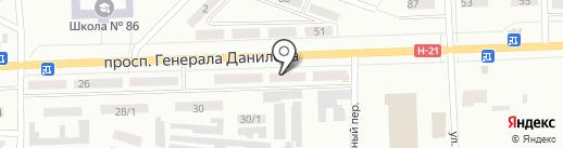 Хороший на карте Макеевки