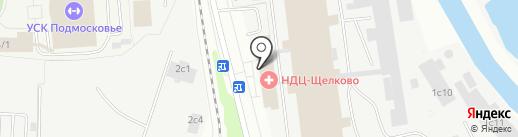 Диалог на карте Щёлково