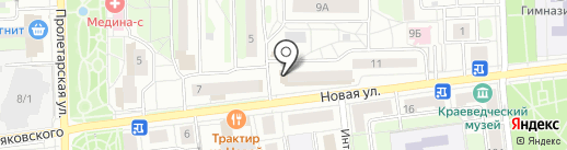 Диалог на карте Балашихи