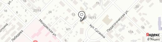 Детский комиссионный магазин на карте Макеевки