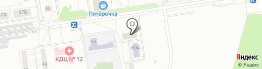 Балашихинский гарнизонный военный суд на карте Балашихи