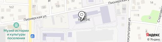 Московская государственная академия физической культуры на карте Малаховки
