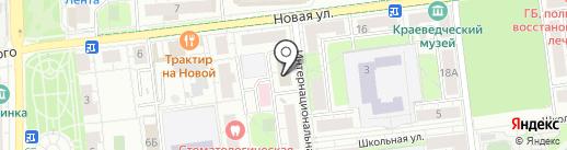 Главное управление Государственного административно-технического надзора Московской области на карте Балашихи