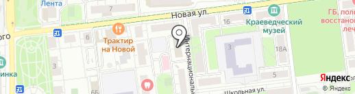 Русич на карте Железнодорожного