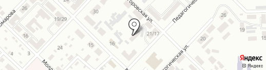 Детский сад №55 на карте Макеевки