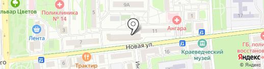 Стэлла на карте Балашихи