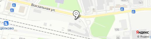 Фронтес на карте Щёлково