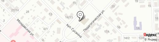 Городской дворец культуры им. В.Г. Кирсановой на карте Макеевки