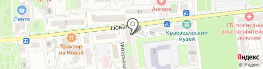А5 на карте Железнодорожного