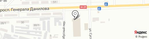 АТП №11429 на карте Макеевки