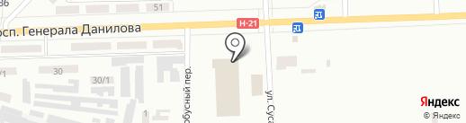 АТП №11429, автотранспортное предприятие на карте Макеевки