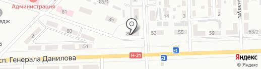 Участковый пункт полиции №17 на карте Макеевки