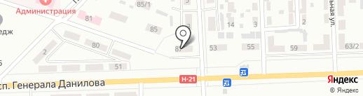 Участковый пункт милиции №17 на карте Макеевки