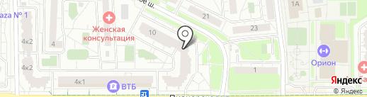 Главное Управление государственного строительного надзора Московской области на карте Железнодорожного