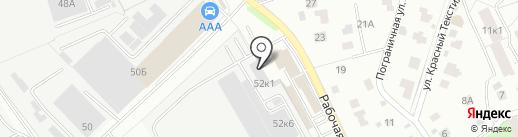 Хеттих Рус на карте Железнодорожного