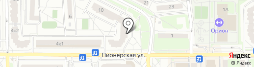 АЛФАВИТ на карте Балашихи