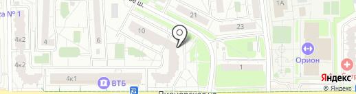 Ассоциация Киокусинкай Московской области на карте Балашихи