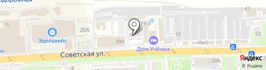 Мастеровой на карте Балашихи