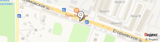 Цветочный вернисаж на карте Малаховки