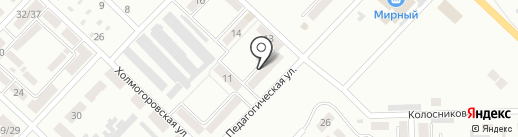 Ева на карте Макеевки