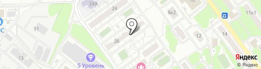 РЕКЛАМ Союз на карте Балашихи