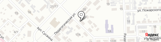 Крем+ на карте Макеевки