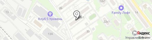 Жел-Дорз на карте Железнодорожного