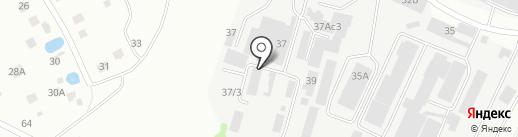 Бурводстрой на карте Балашихи