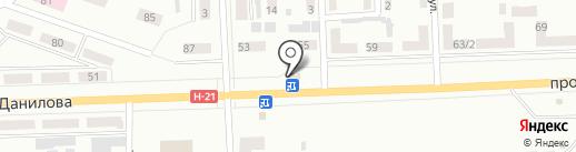 Каспій на карте Макеевки