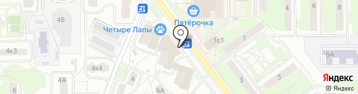Магазин канцелярских товаров на карте Балашихи