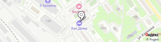 Поликлиника №4 на карте Балашихи