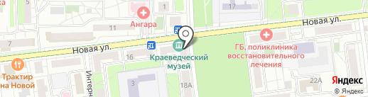 Краеведческий музей г. Железнодорожного на карте Железнодорожного