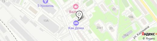 Юбилейный, ТСЖ на карте Балашихи