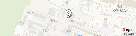 Афина-Мебель на карте Малаховки