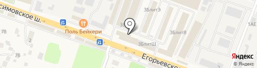 СтройКраски на карте Малаховки