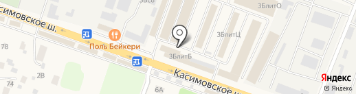 Дом Дровосека на карте Малаховки