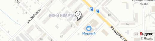 MIX на карте Макеевки