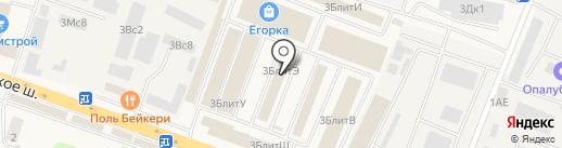 Мир Красок на карте Малаховки