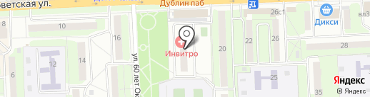 РИКИ на карте Железнодорожного