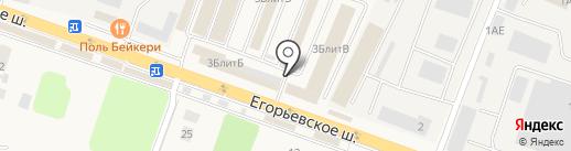 Мираторг на карте Малаховки