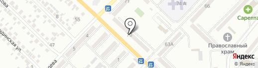 Стиль, салон-парикмахерская на карте Макеевки