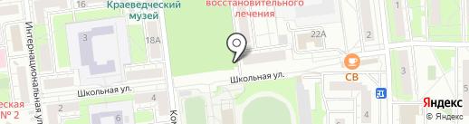 Киоск печатной продукции на карте Балашихи