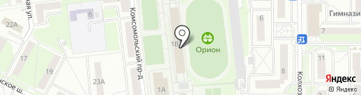 Астрон на карте Балашихи