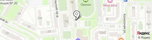 Платный общественный туалет на карте Балашихи