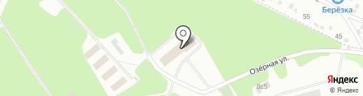 Стрелок на карте Фрязино