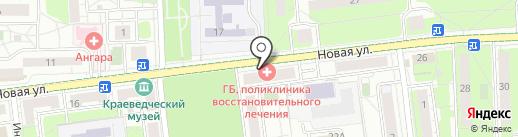 ФЛАМИНГО на карте Балашихи