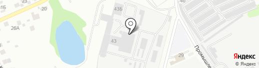 ОблВент на карте Балашихи